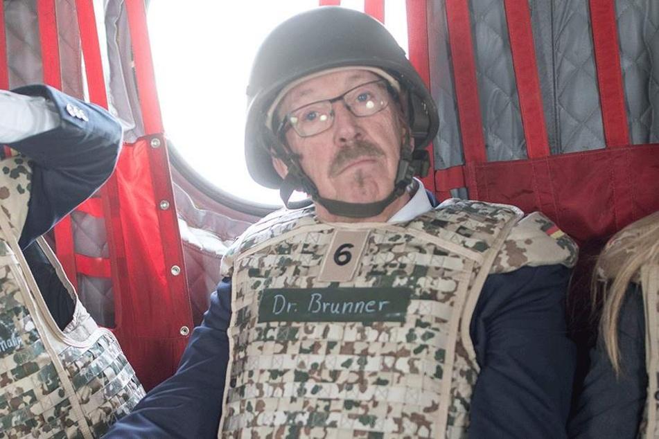 SPD-Verteidigungsexperte Karl-Heinz Brunner (65).
