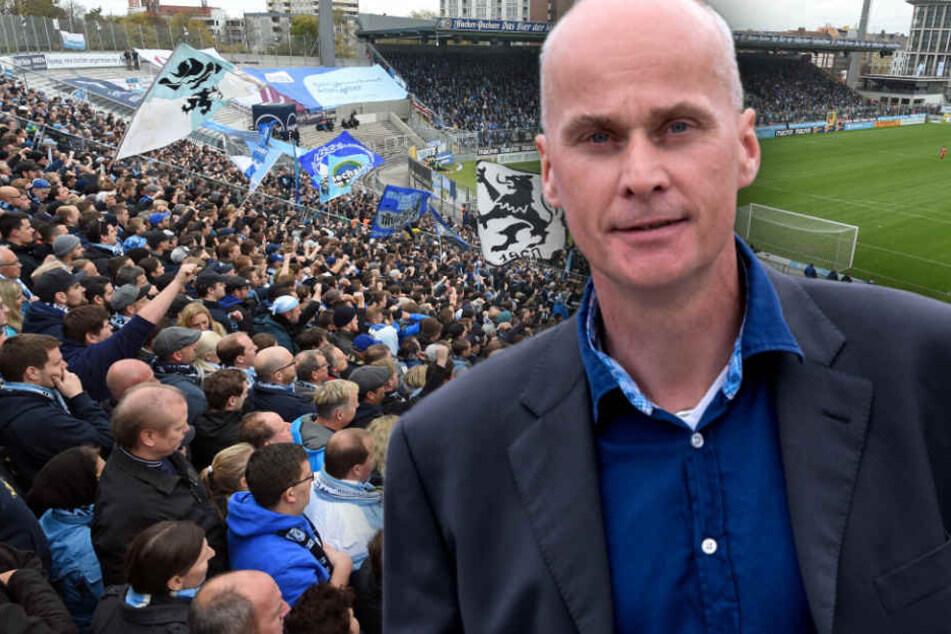 Die Löwen wollen auch bei einem erneuten Aufstieg im Grünwalder Stadion bleiben.