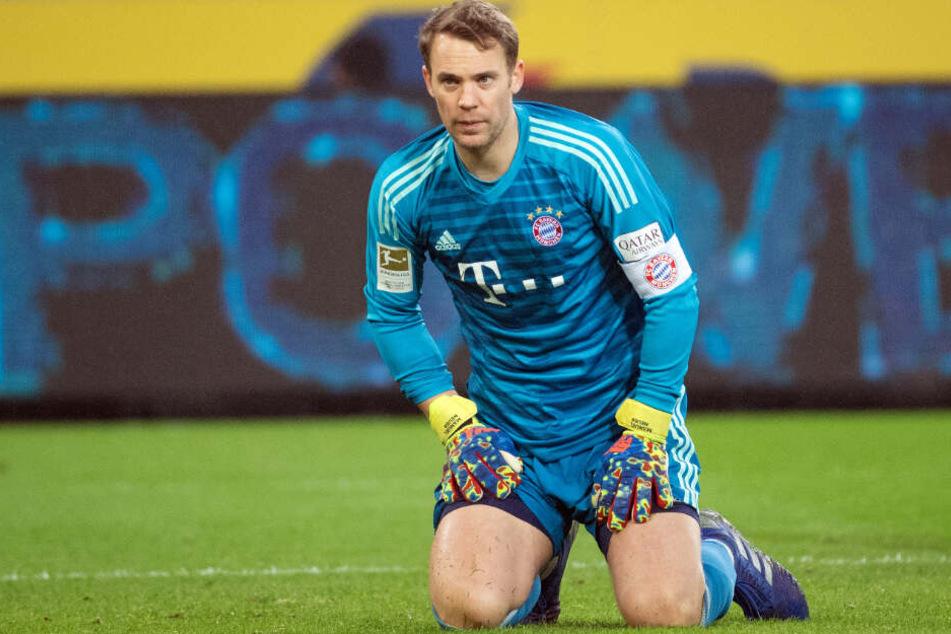 Manuel Neuer wird im Pokal sehr wahrscheinlich nicht im Tor des FC Bayern München stehen.
