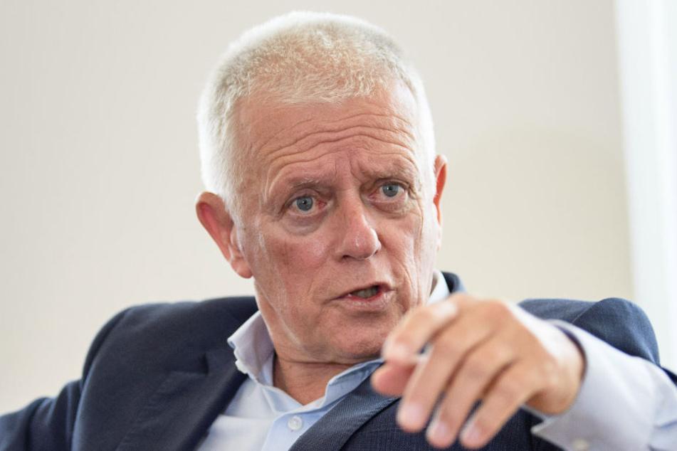 Oberbürgermeister Kuhn war anfangs gegen das Projekt.