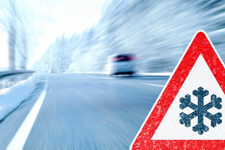 Straßenglätte hat Mittwochmorgen auf der B93 und der Autobahnbrücke zur Autobahn 4 mehrere Unfälle verursacht (Symbolbild).