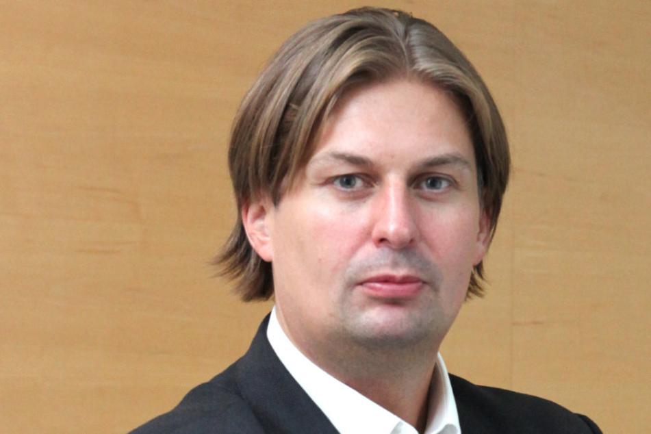 Maximilian Krah (40) trifft sich mit dem AfD-Kreisvorstand.