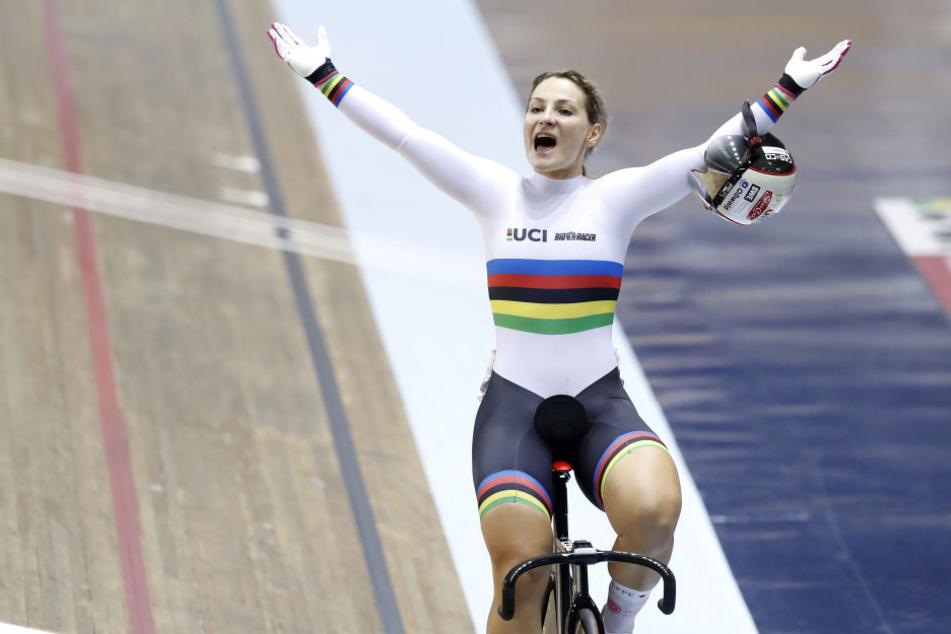 Erfolgreicher WM-Start: Kristina Vogel holt Gold