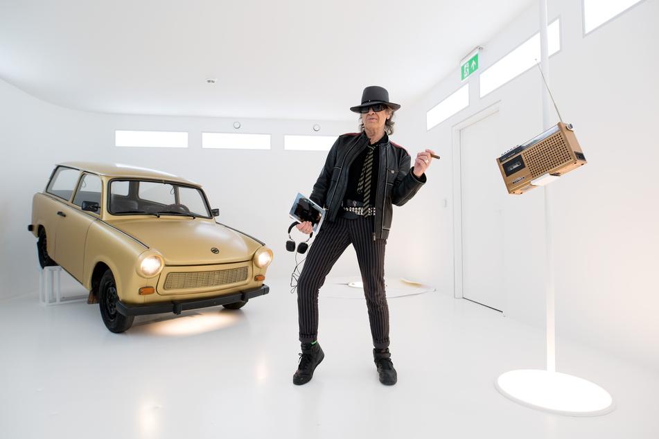 """Rockstar Udo Lindenberg (75) in der """"Panik City"""" im Klubhaus St. Pauli. Acht Monate lang war die 2018 eröffnete Panik City an der Reeperbahn geschlossen. (Archivbild)"""