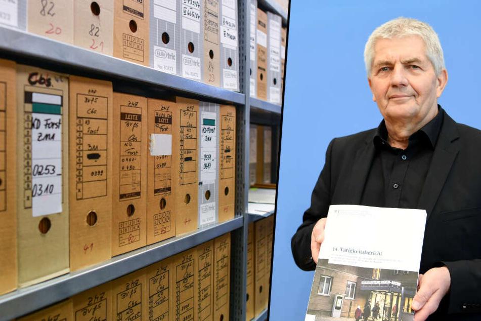 Roland Jahn ist der Bundesbeauftragte für Stasi-Unterlagen. (Bildmontage)