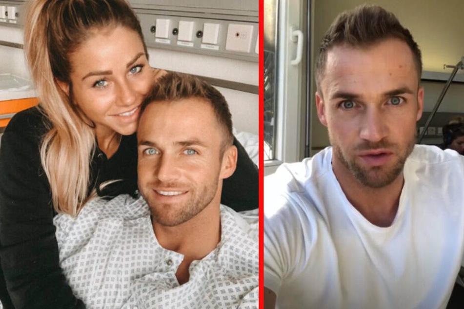"""Sorgen um Star von """"Bachelor in Paradise""""? Philipp Stehler im Krankenhaus"""