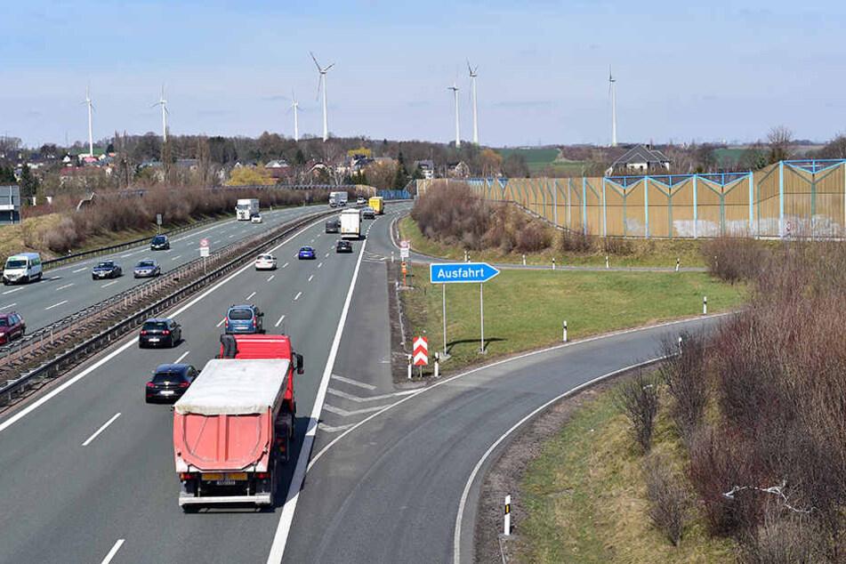 Die Abfahrt in Rottluff in Fahrtrichtung Leipzig wird voraussichtlich ab 25. April gesperrt.
