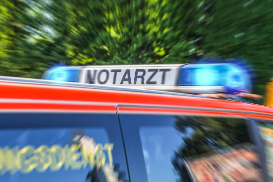 Das Unfallopfer wurde in ein Krankenhaus gebracht (Symbolbild).