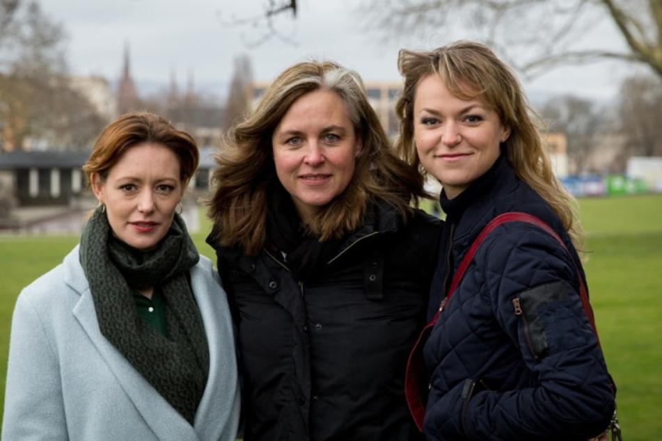 Lavinia Wilson (als Isabel Voigt), Christiane Balthasar (Regie), Lisa Wagner (als Winnie Heller)