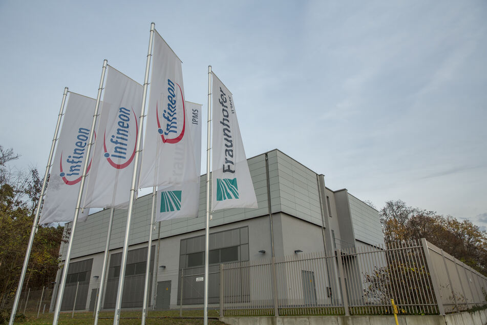 Das Infineon-Werk in Dresden.