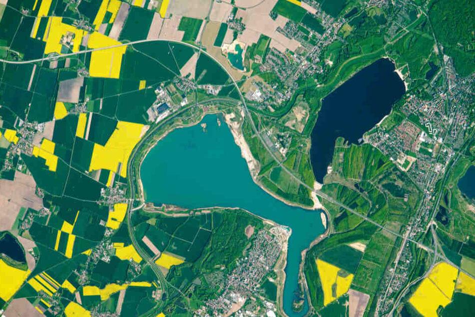Atemberaubende Aufnahmen! So sieht das Leipziger Neuseenland von oben aus