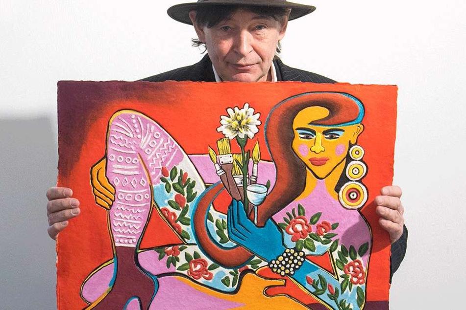 Galerist Holger John (57).