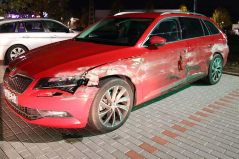 Am Skoda entstand erheblicher Schaden.