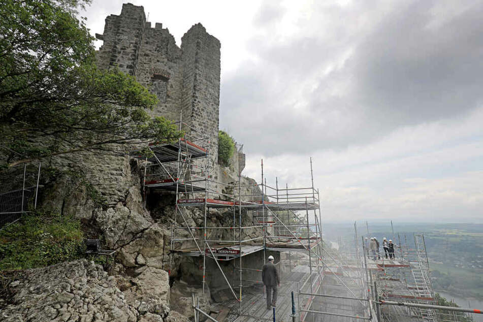 Die Sanierungsarbeiten am Drachenfels sind abgeschlossen (Archivbild).