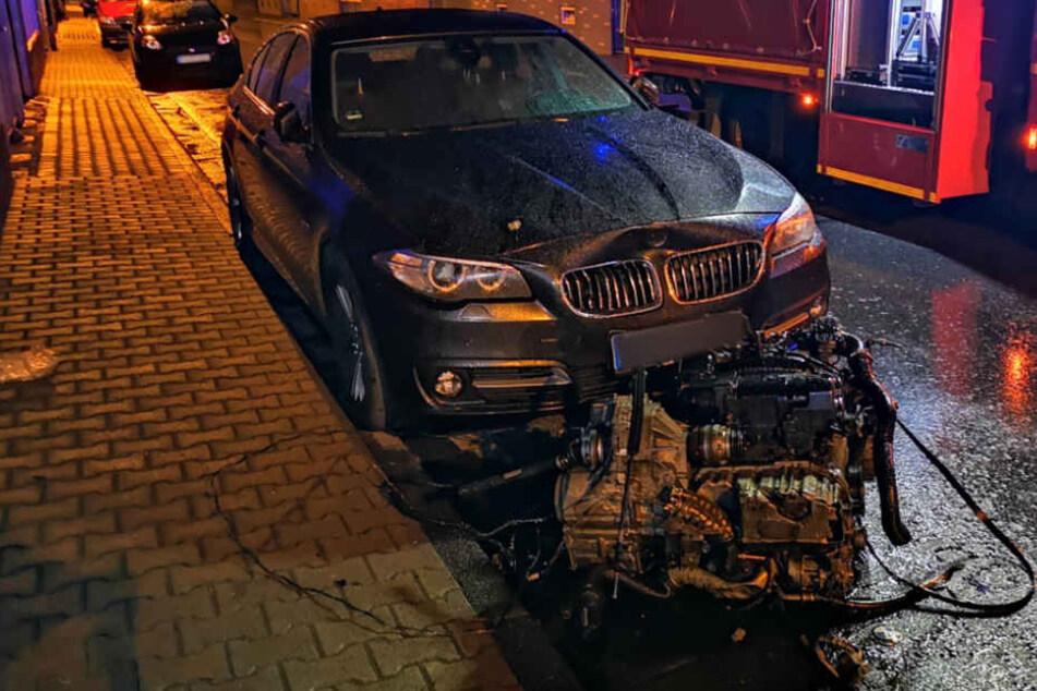 Der Fahrer stand unter Alkohol- und Drogeneinfluss.