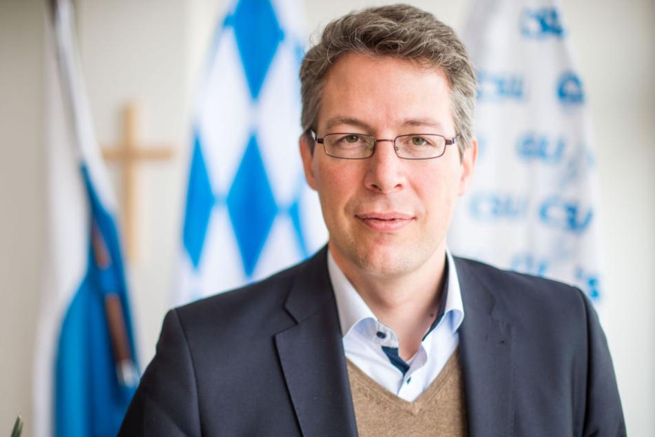 Markus Blume (43) ist der Generalsekretär der CSU