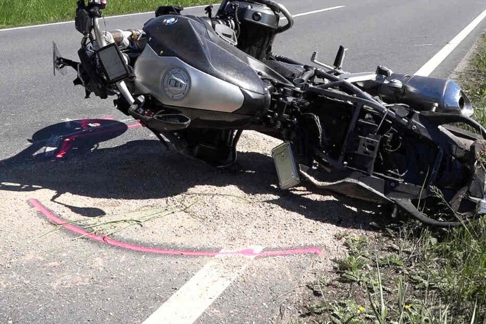 Die Verletzungen des Motorradfahrers waren tödlich.