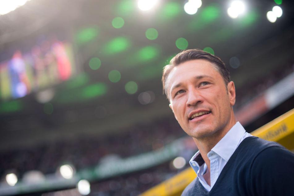 """Niko Kovac will die Punkte aus Gladbach gegen den FCA """"vergolden""""."""