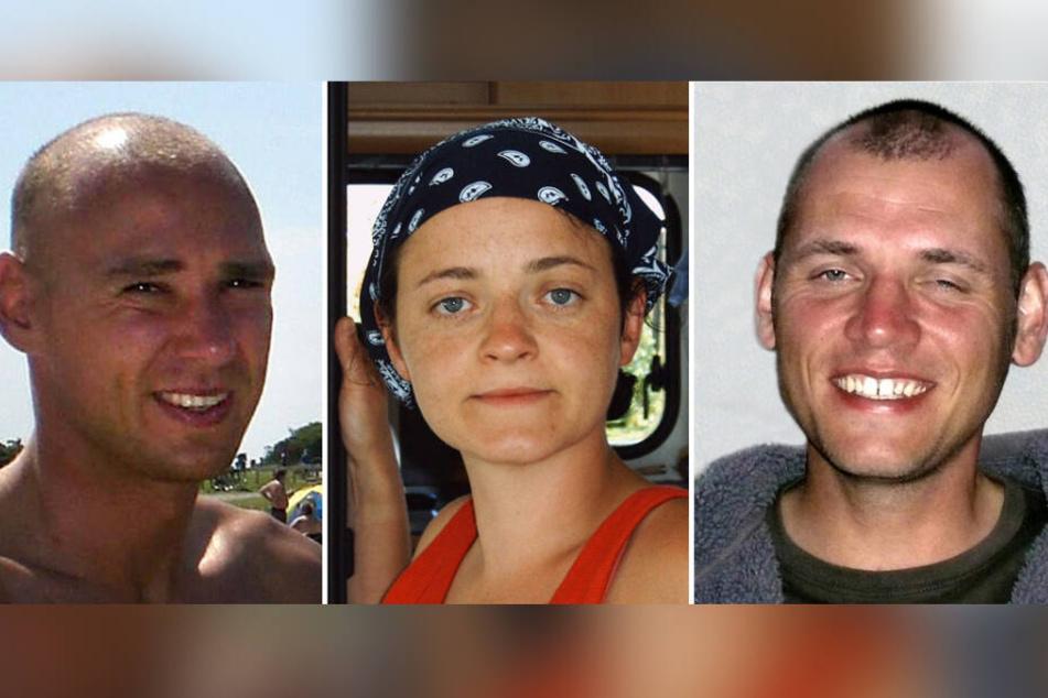 Das NSU-Trio (v.l.) Uwe Mundlos, Beate Zschäpe und Uwe Böhnhardt töteten zwischen 2000 und 2007 insgesamt neun Migranten und eine Polizistin.