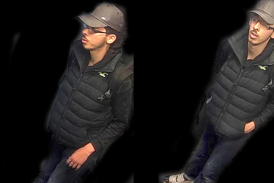 Diese beiden Fotos veröffentlichte die Polizei in Manchester jetzt. Hat Salman Abedi hier schon die Hand am Zünder?