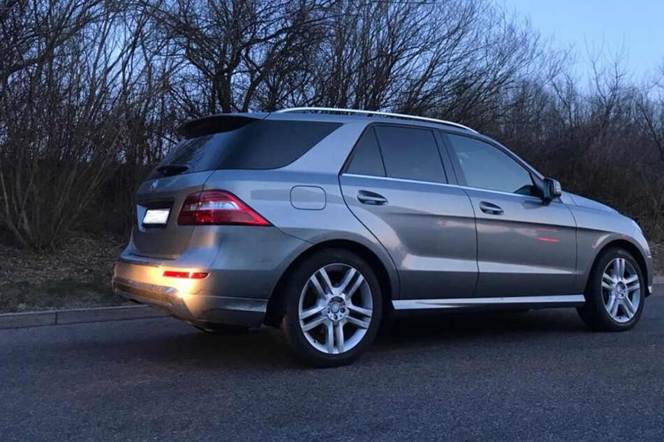 Geklaut wurde der graue Mercedes ML 350 in Reutlingen.