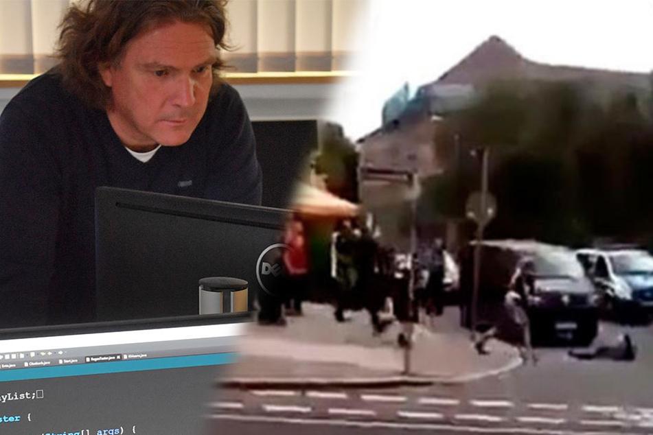 Wertete das Augenzeugenvideo der Schießerei in seinem Digital-Labor aus: Professor Dirk Labudde, Sachsens Experte für Cyberkriminalität.