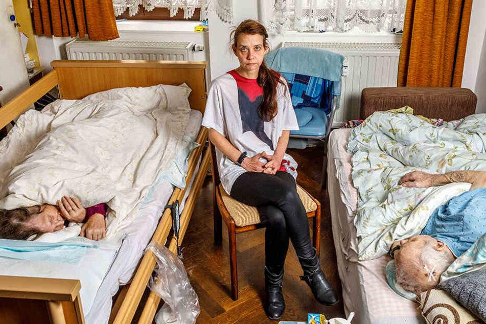 Pflegenotstand in Sachsen! Der unwürdige Tod von Opa Peter