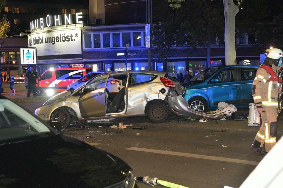 Am Kurfürstendamm gab es einen dramatischen Unfall.