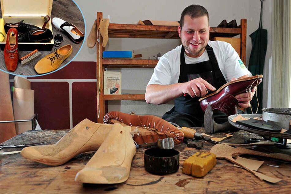 Rochen, Strauß & Co.: Sächsische Manufaktur macht ganz besondere Schuhe