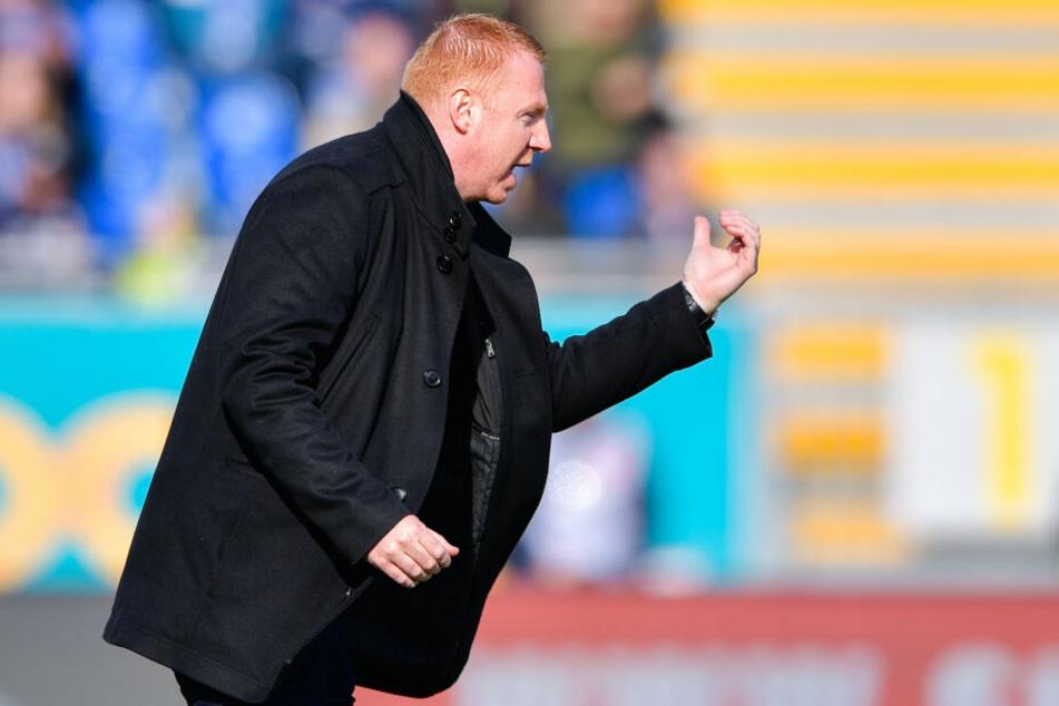 Am Samstag unterlag Dynamo unter der Leitung von Walpurgis beim SV Darmstadt 98.