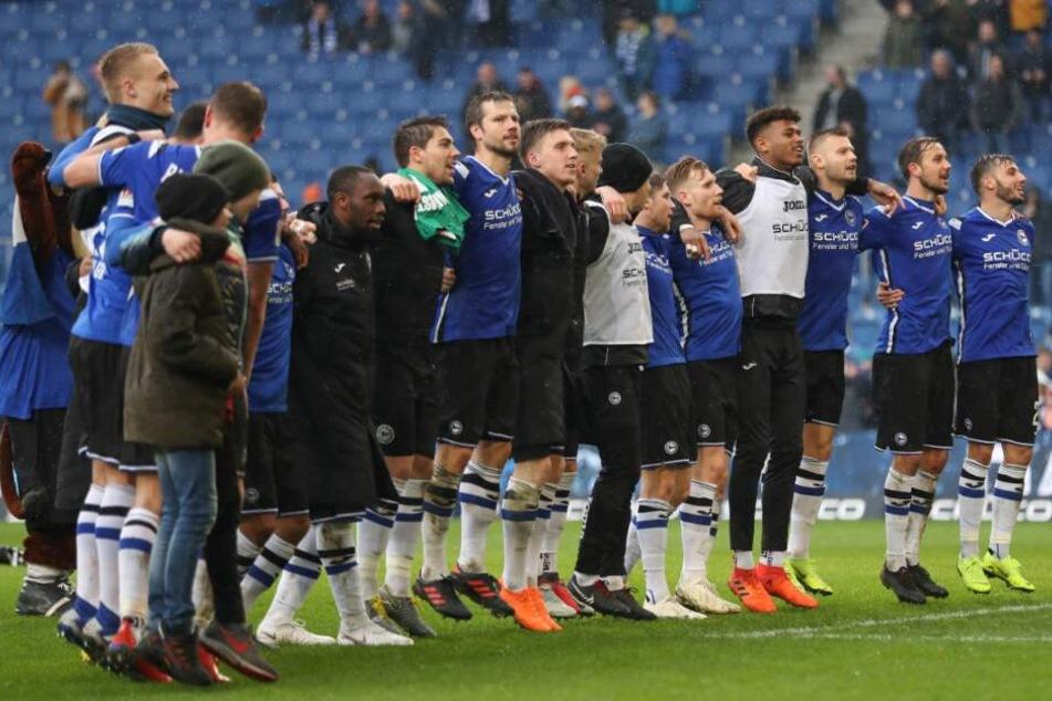 Auch beim Duell gegen den 1. FC Köln möchte der DSC als Sieger vom Platz gehen.