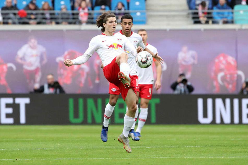 Kritisierte seinen Trainer nach dem Spiel für dessen Personalentscheidungen: Marcel Sabitzer (l.).