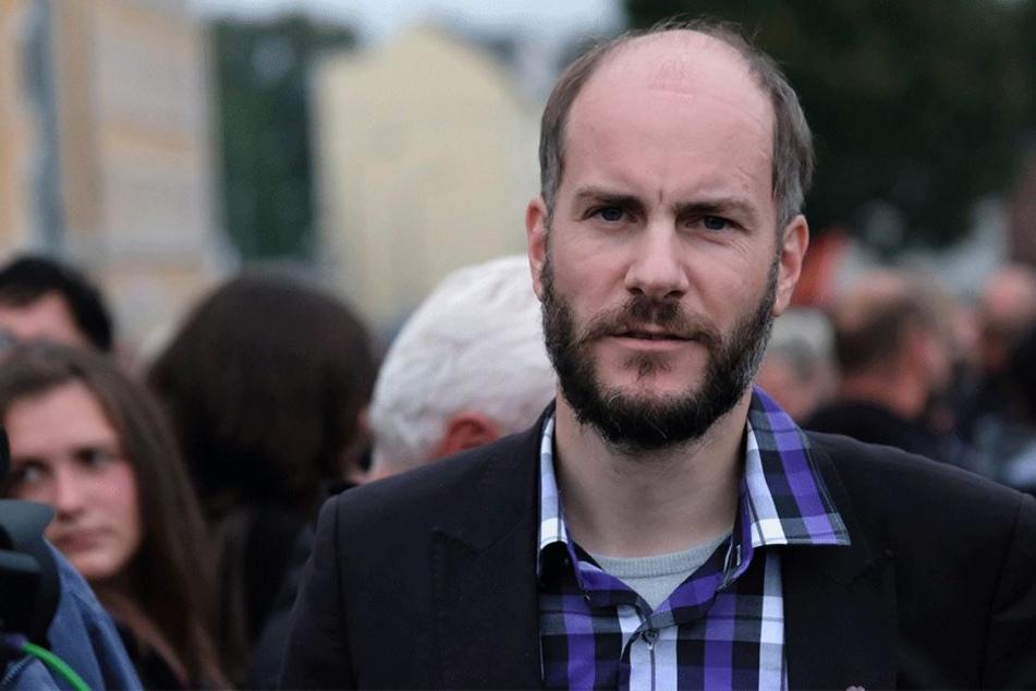 """Dem Verfassungsschutz bestens bekannt: """"Pro Chemnitz""""-Chef Martin Kohlmann (41)."""