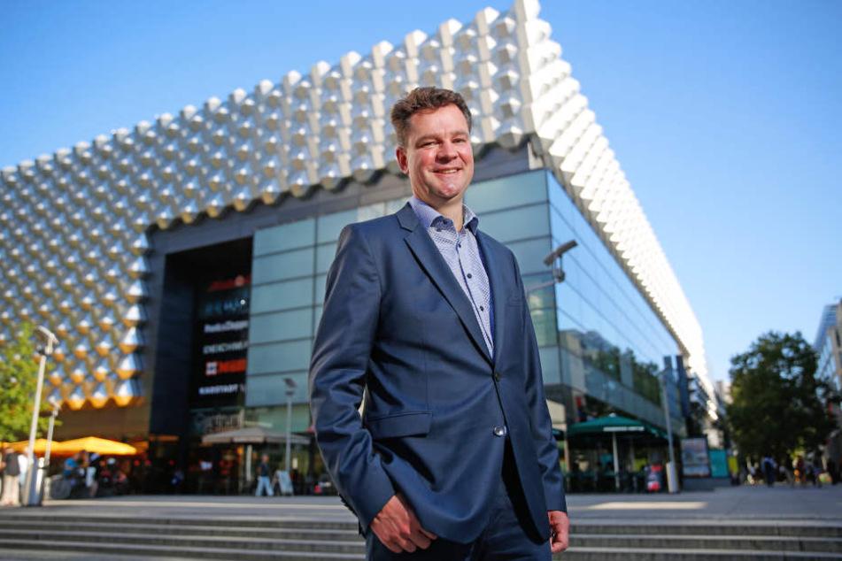 Centrum-Chef Dirk Fittkau (45) freut sich über einen neuen Ankermieter.