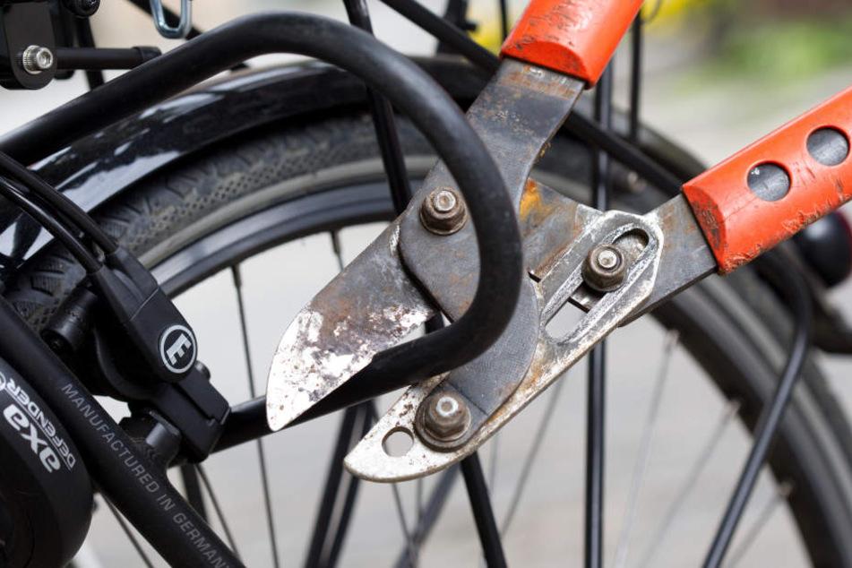 Ein Fahrraddieb flüchtete in der Darmstädter Innenstadt  vor der Polizei