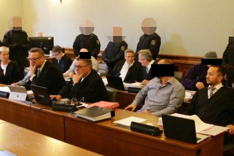 Der Prozess am Dienstag in Leipzig. Urteil: vier mal lebenslang.