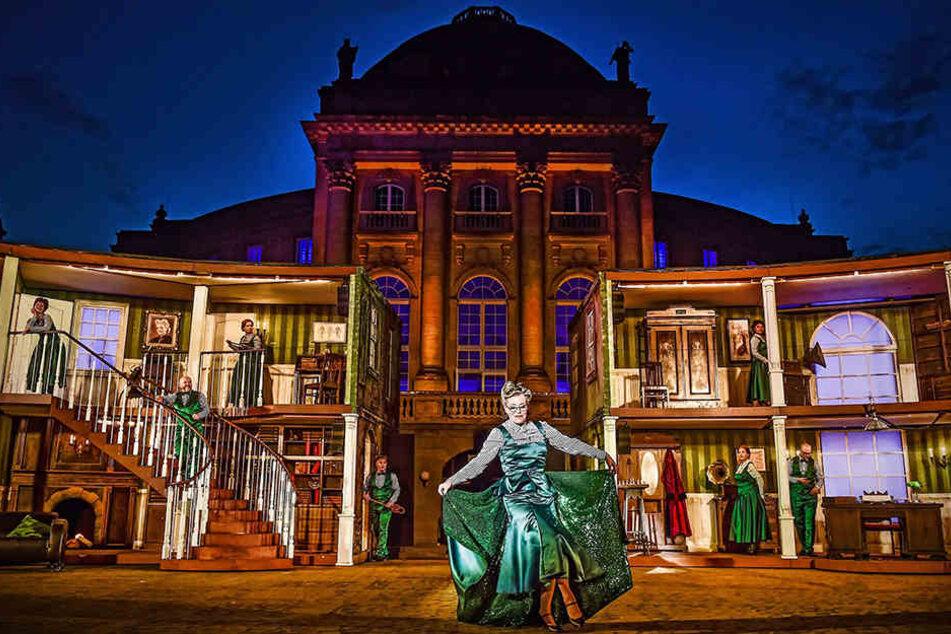 """Schön, aber teuer: Auch das Musical """"My Fair Lady"""" trug zum Minus im Theater bei."""
