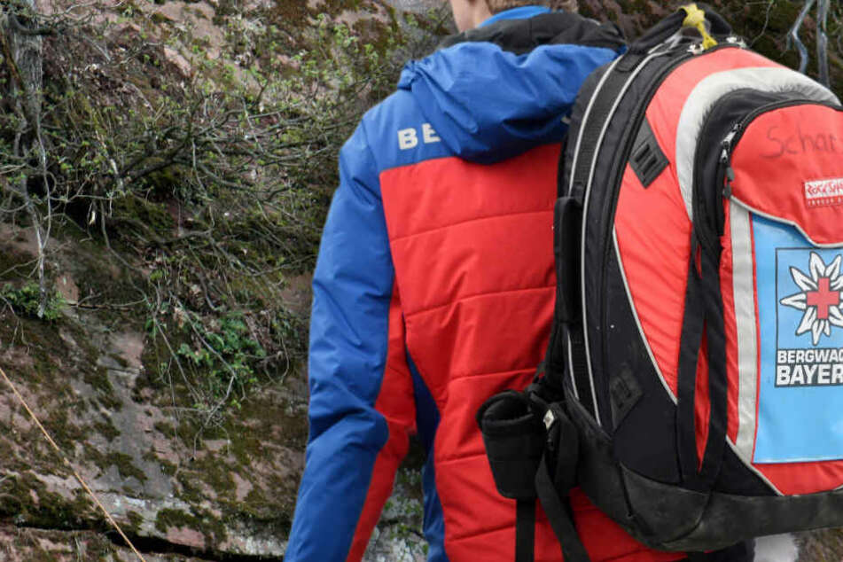 Die Bergwacht Bayern konnte den Mann nicht mehr retten. (Symbolbild)