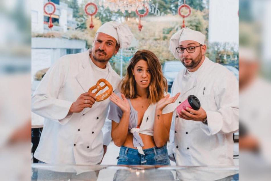 Vanessa Mai & Stereoact als Bäckermeister: Am Freitag kommt wird das Musikvideo veröffentlicht.