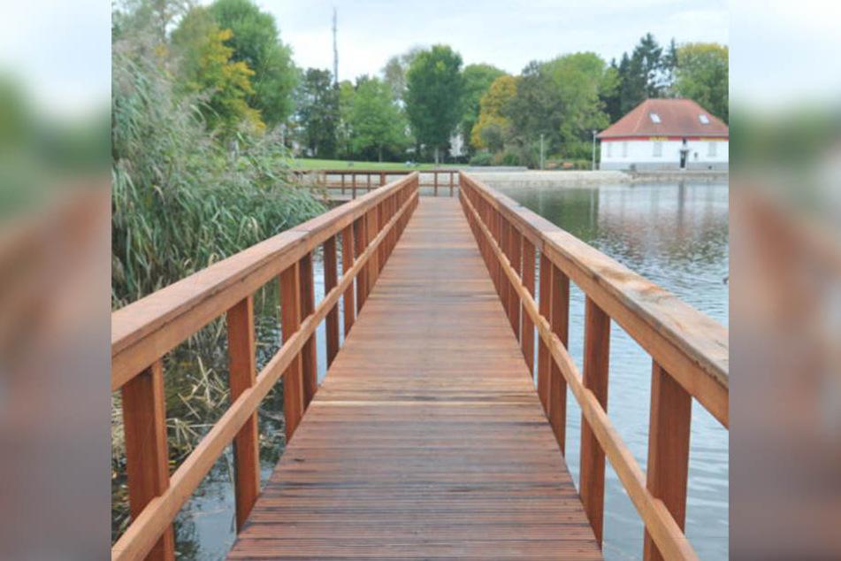 Nicht direkt auf dem See, aber im Bünder Steinmeisterpark soll es ab dem 1. Dezember eine Eisbahn geben.
