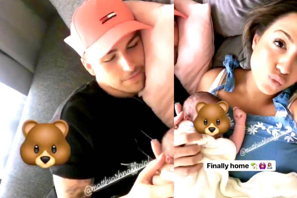 BTN-Stars Jenefer und Matze zeigen endlich ihr Baby, aber ein Detail besorgt die Fans