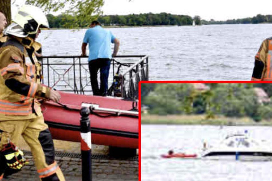 Trotz Reanimation: Brandenburger Kajak-Fahrer ist tot