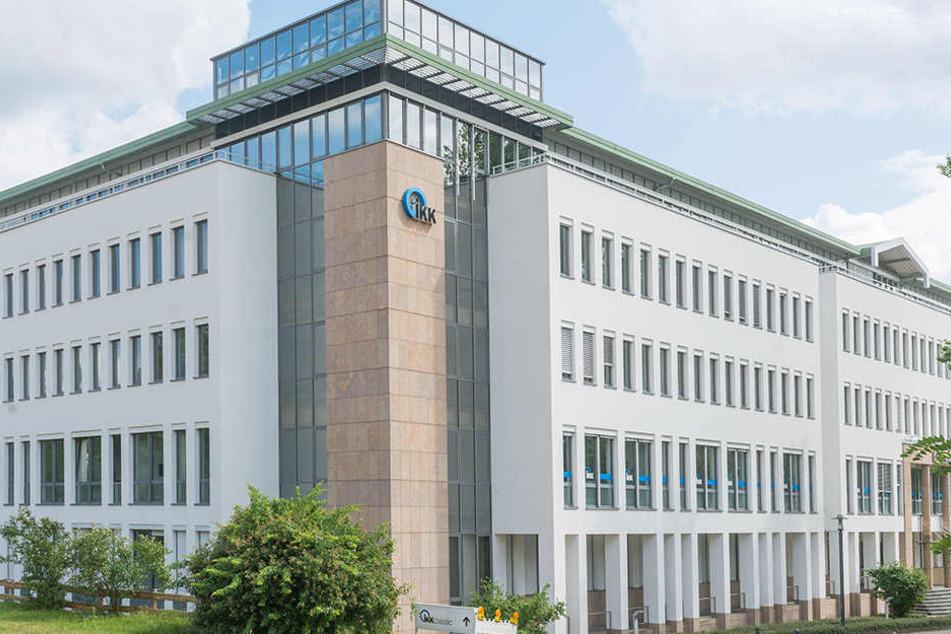Die IKK-Zentrale in der Dresdner Albertstadt.