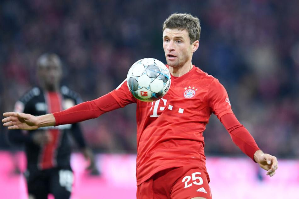 Thomas Müller sorgte für den 1:1-Ausgleich, doch Leverkusen schlug sofort zurück.