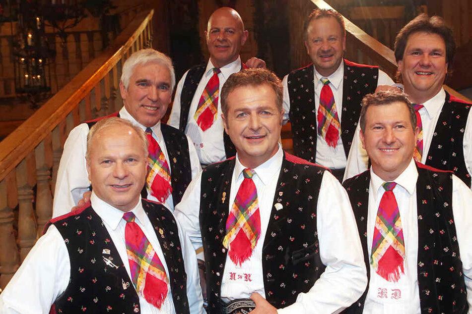 Die Kastelruther Spatzen sind eine bekannte Volksmusikgruppe aus Südtirol.