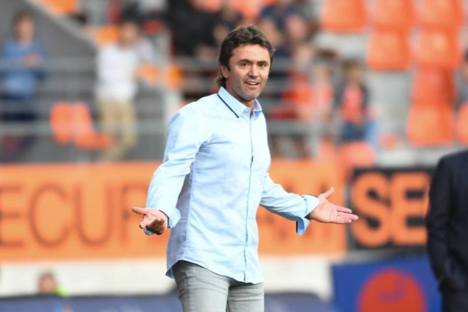 """Frankreichs U21-Coach Sylvain Ripoll kann Augustins Entscheidung nicht verstehen: """"Das sind keine akzeptablen Entschuldigungen, und sie passen nicht zum Spirit, den ich in der Mannschaft sehen will."""""""