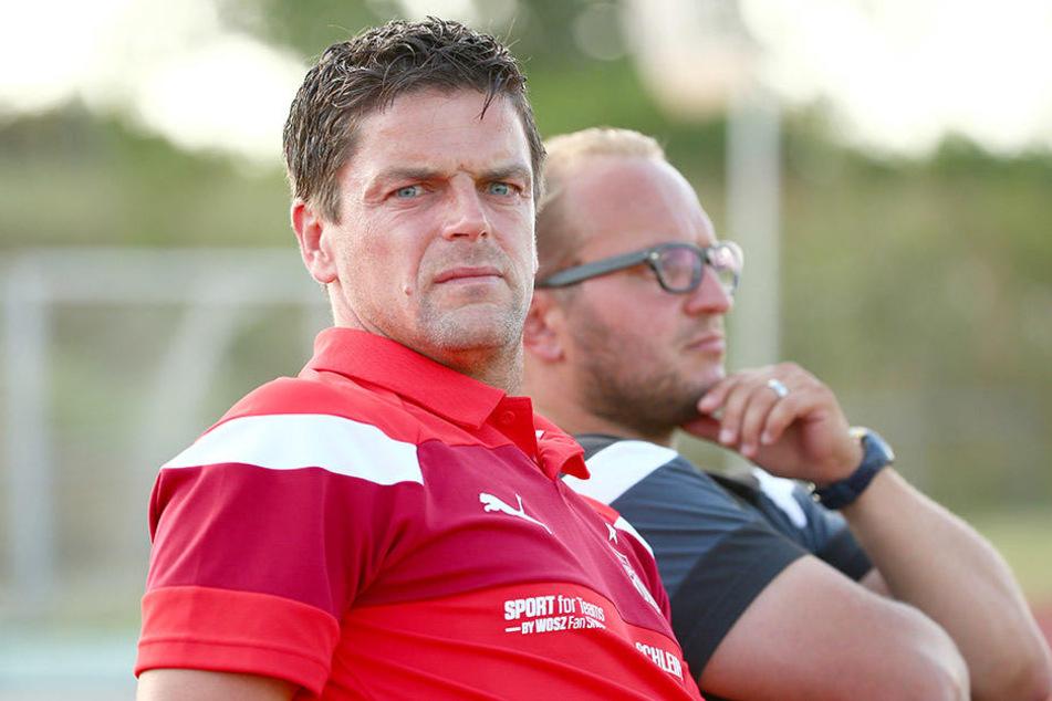 """""""Wir reisen nicht als Erlebnistouristen an"""", verdeutlichte Co-Trainer Danny König."""