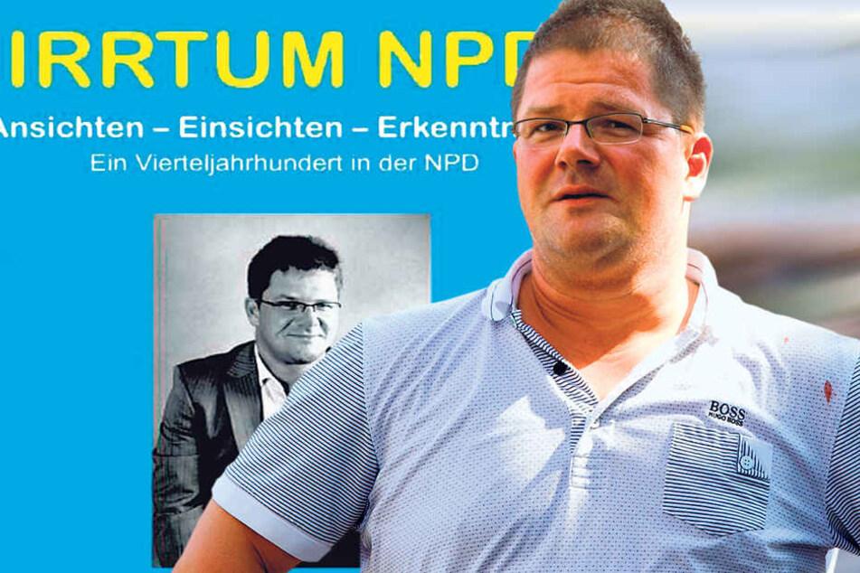 Holger Apfel (46), der frühere NPD-Chef in Sachsen.