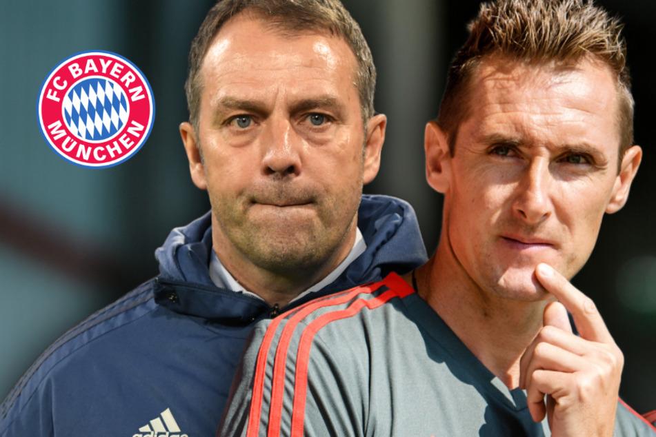 FC Bayern: Steht Miroslav Klose bald an der Seite von Hansi Flick?