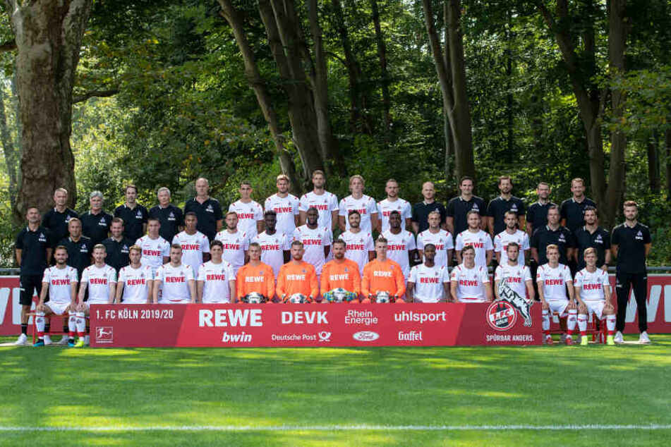 Das Mannschaftsfoto des 1. FC Köln für die aktuelle Saison.